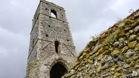 Church ruins. Royalty Free Stock Image