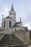 Church of Rully, burgundy, France Royalty Free Stock Photography