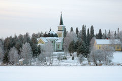 Church in Ruokolahti, Finland Royalty Free Stock Photos