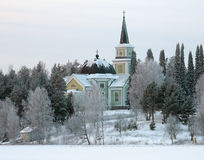 Church in Ruokolahti, Finland Stock Photography