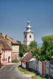 Church in Rupea Stock Photography