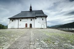 Church in rural Poland Stock Images