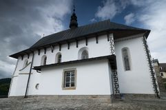 Church in rural Poland Stock Photography