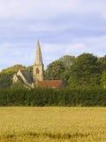 Church in a rural setting Stock Photo