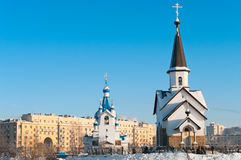 Church in Russia Stock Image