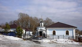 Church-Russia, Chapel of the Mother of God in the Life-Giving Spring Royalty Free Stock Image