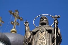 Church in Russia. The Orthodox Church in Russia Stock Photography