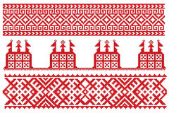 Church russian embroidery Stock Photos