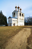 Church in Russian Monastery Stock Images