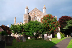 Church in Rye royalty free stock images