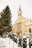 Church in Rymanow Zdroj - Poland Royalty Free Stock Image