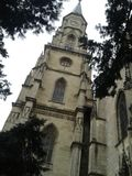 Church& x27; s塔 免版税库存图片