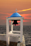 Church's bell in  Greece Royalty Free Stock Photos