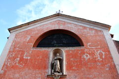 Church of S.Bonaventura on Palatine hill Stock Image