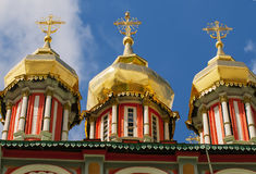 Church's cupola close up in the Sergiev Posad Zagrosk ,Russia Stock Photos