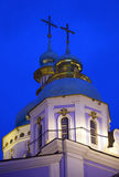 Church's cupolas. Royalty Free Stock Image