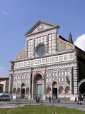 Church S. Maria Novella in Florence Royalty Free Stock Image