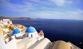 Church's of santorini Stock Photo