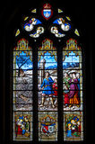 Church's window Royalty Free Stock Photos