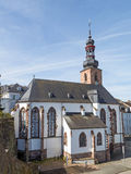 Church in Saarbrucken Stock Photography