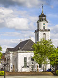 Church in Saarbruecken Royalty Free Stock Images