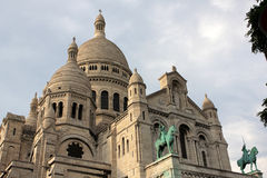Church Sacre Coeur in Paris Royalty Free Stock Image