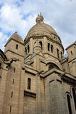 Church Sacre Coeur in Paris. Part of church Sacre Coeur in Montmartre, Paris Royalty Free Stock Photos