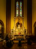 Church of Sacred Heart of Jesus in Bologna, Italy Stock Photo