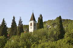 Church of Sacred Heart of Jesus in Studenci. Bosnia and Herzegovina Stock Images