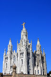 Church of the Sacred Heart of Jesus, Tibidabo Stock Photography
