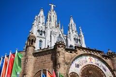Church of the Sacred Heart of Jesus, Tibidabo Royalty Free Stock Image