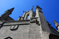 Church of the Sacred Heart of Jesus, Tibidabo Stock Image