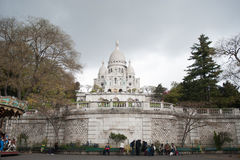 Church of Sacred Heart in Paris Royalty Free Stock Image