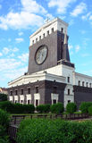 Church of the Sacred Heart, Prague architecture Royalty Free Stock Photography