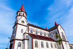 Church of Sacred Heart, Puerto Varas, Chile Royalty Free Stock Photos