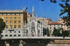 Church Sacro Cuore del Suffragio, Rome in Rome, Italy Royalty Free Stock Photo