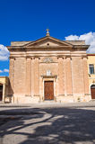 Church of Sacro Cuore. Manduria. Puglia. Italy. Royalty Free Stock Images