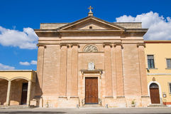 Church of Sacro Cuore. Manduria. Puglia. Italy. Stock Photography