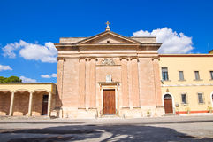 Church of Sacro Cuore. Manduria. Puglia. Italy. Royalty Free Stock Photos