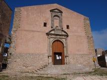 Church of Saint Julian, Erice, Sicily, Italy Stock Images