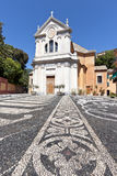 Church of Saint Ambrose in Zoagli Stock Photos