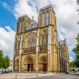 Church Saint Andre in Bayonne - France Stock Image