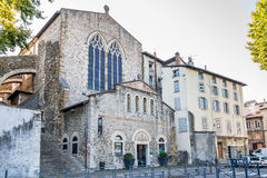 Church of Saint Andre le Bas in Vienne - France Stock Photography