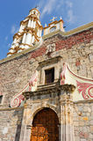 Church of Saint Andrew, Ajijic, Jalisco, Mexico Royalty Free Stock Images