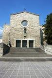 Church of Saint Anthony of Padua, Zagreb Royalty Free Stock Images