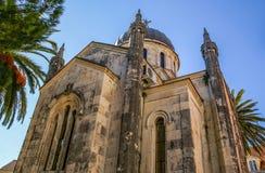 Church of Saint Archangel Michael in Herceg Novi Royalty Free Stock Photo