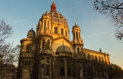The church Saint Augustin, Paris, France. Royalty Free Stock Image