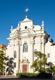 Church of Saint Augustine in Bolzano Stock Photography