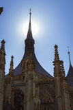Church of Saint Barbara. Kutna Hora, Czech Republic Royalty Free Stock Photography