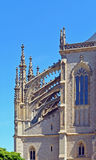 Church of Saint Barbara, Kutna Hora Czech Republic Royalty Free Stock Photography
